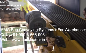 Truck Loading / Unloading system and gowdown Automations