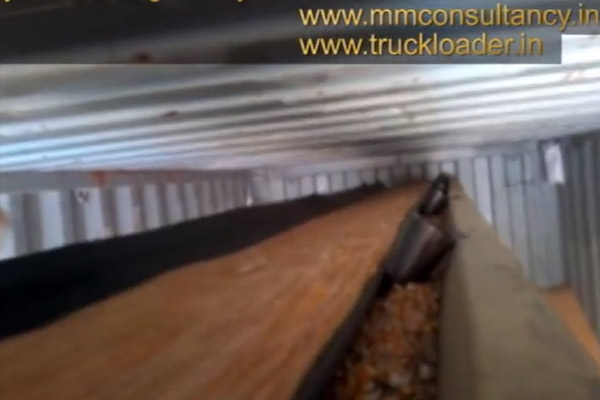 Container Filling Conveyor