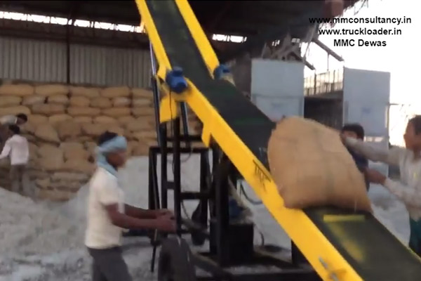 Truck Loader for cotton seed oil mill