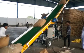 MMC Truck Loading Conveyor 8P Bag Stacker Model